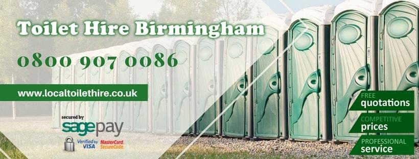 Portable Toilet Hire Birmingham
