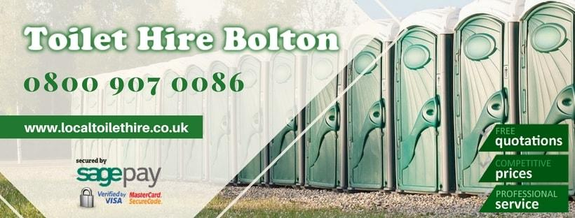 Portable Toilet Hire Bolton