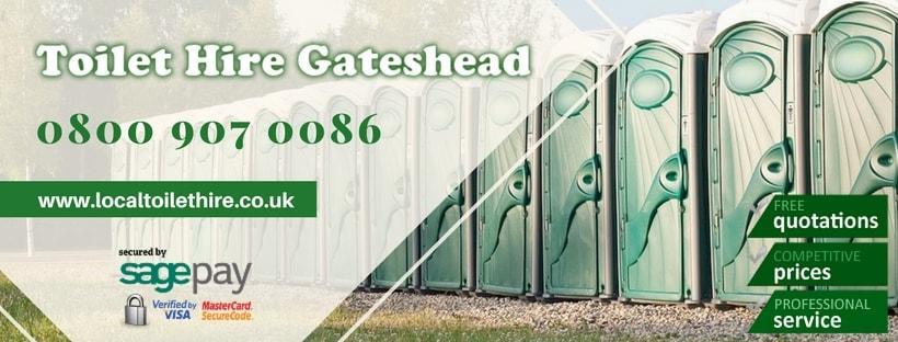 Portable Toilet Hire Gateshead