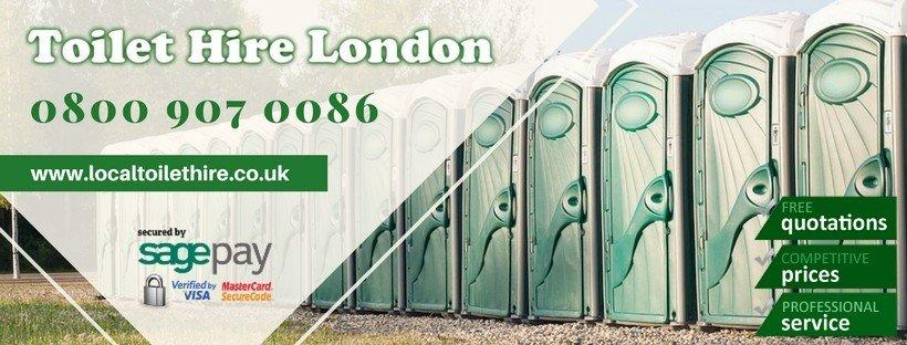 Portable Toilet Hire London