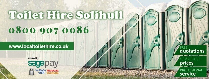 Portable Toilet Hire Solihull