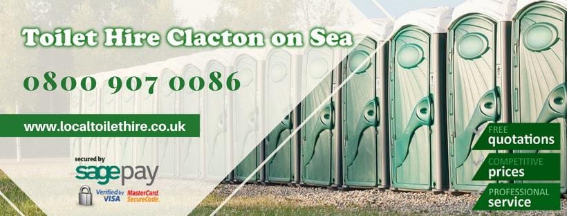 Portable Toilet Hire Clacton on Sea