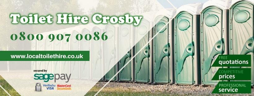 Portable Toilet Hire Crosby