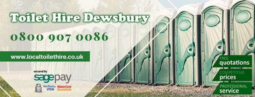 Portable Toilet Hire Dewsbury