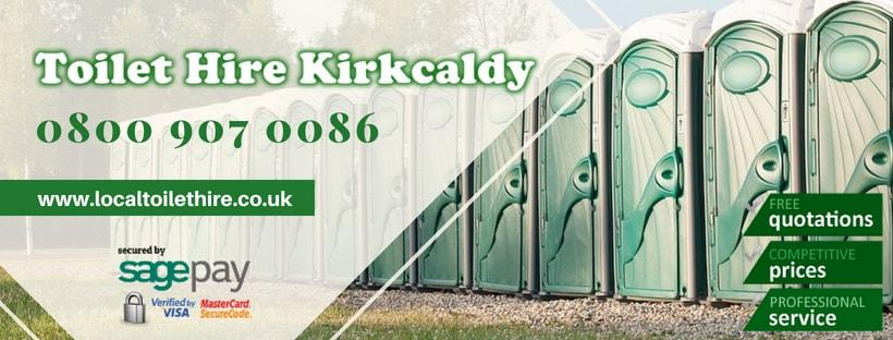 Portable Toilet Hire Kirkcaldy