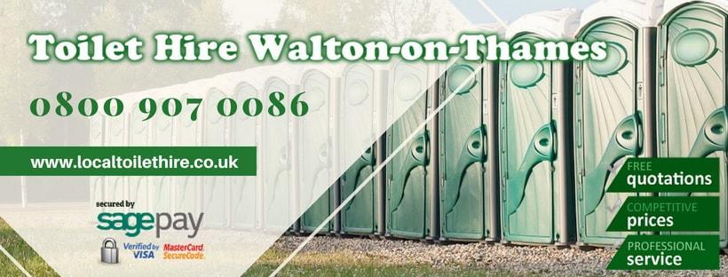 Portable Toilet Hire Walton-on-Thames