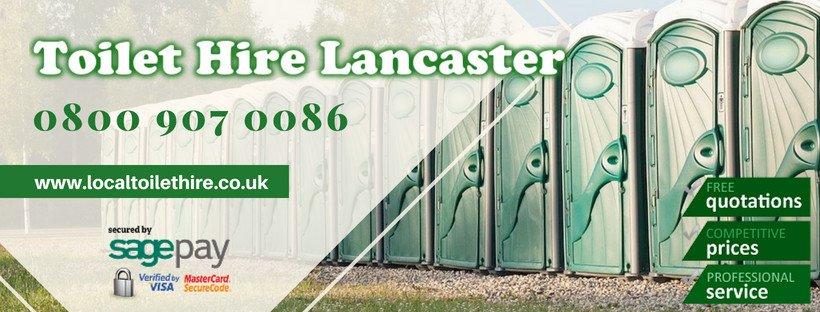 Portable Toilet Hire Lancaster