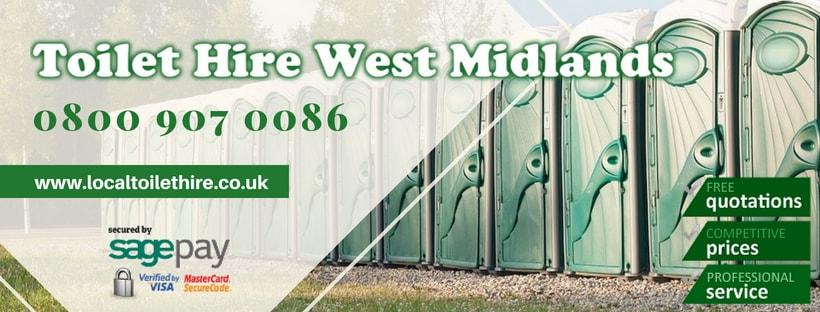 Portable Toilet Hire West Midlands